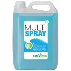 Glas- en allesreiniger Ecover Greenspeed Multi Spray citrus 5l
