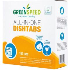 Vaatwastablet Greenspeed All-In-One (100)