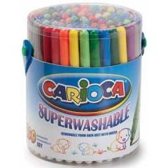 Viltstift Carioca Doodles assorti pot (100)