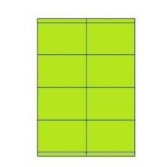 Etiketten Eticopy 08 etik/bl 105x70mm groen (200)