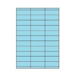 Etiketten Eticopy 33 etik/bl 70x25,4mm blauw (200)