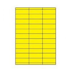 Etiketten Eticopy 33 etik/bl 70x25,4mm geel (200)