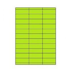 Etiketten Eticopy 33 etik/bl 70x25,4mm groen (200)