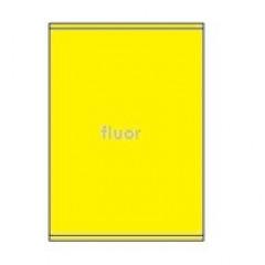 Etiketten Eticopy 01 etik/bl 210x280mm fluo geel (200)