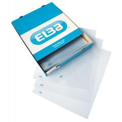 Showtas Elba PP A4 extra wijde opening 11-gaats glashelder 70µ (100)