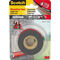 Montagetape Scotch extreme 19mm x 1,5m