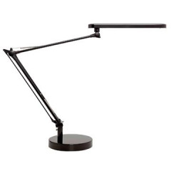 Bureaulamp Unilux Mamboled LED-lamp zwart