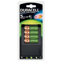 Batterijlader Duracell Hi-Speed Expert Charger incl 4x AA batterijen