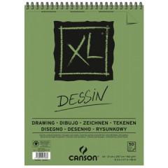 Tekenblok Canson XL A4 160gr 50vel wit