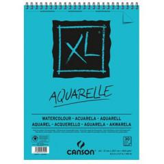 Schetsblok Canson XL aquarelle A4 300gr 30vel wit
