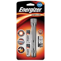 Zaklamp Energizer Metal Led incl 2x AA