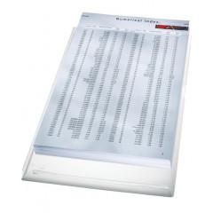 Harmonica zichtmap Leitz Premium PVC A4 170µ gekorreld transparant (5)