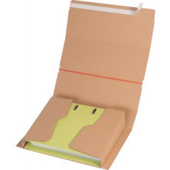 Elba verzenddoos voor ordners A4, ft 32x29x3.5-8cm, bruin