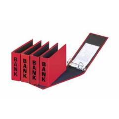 Bankringmap Pagna PP A6 2 ringen rug 5cm rood