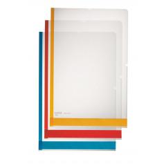 Zichtmap Leitz Premium Desk Free PP A4 150µ glashelder transparant assorti (6)