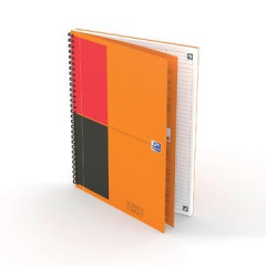 Spiraalboek Oxford International Notebook Connect hardcover B5 gelijnd 160blz