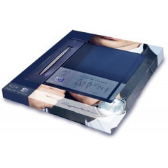 Giftset Parker Jotter roestvrij staal CT met Oxford Signature Business Journal notitieboek A5