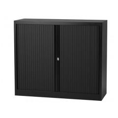 Roldeurkast Bisley 103x100x43 (hxbxd) zwart