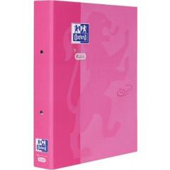 Ringmap Oxford Touch karton A4 2 ringen 30mm rug 4cm roze
