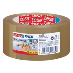 Verpakkingstape Tesa PVC 4124 Ultra Strong 50mm x 66m havana (412450M)