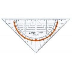 Geodriehoek Linex 1616G 16cm
