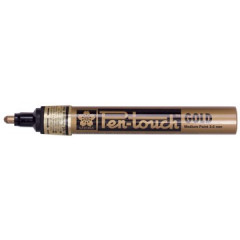 Paintmarker Sakura Pen-Touch ronde punt 2mm goud