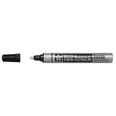 Paintmarker Sakura Pen-Touch ronde punt 2mm zilver