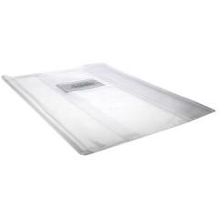 Schriftomslag 33x23cm 350 micron met venster en etiket transparant