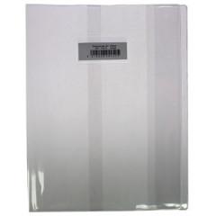 Schriftomslag A4 350µ met venster en etiket transparant