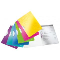 Klemmap Leitz ColorClip WOW PP A4 30vel assorti metallic (4185099)