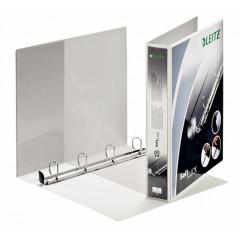 Panorama ringmap Leitz SoftClick PP A4 maxi 4 D-ringen 30mm rug 5,1cm 2 insteekvakken wit