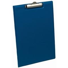 Klemplaat Elba Standaard met overslag PP A4 blauw
