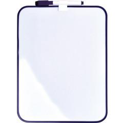 Whiteboard Desq magnetisch 215x280mm paars