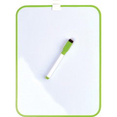 Whiteboard Desq magnetisch 215x280mm groen