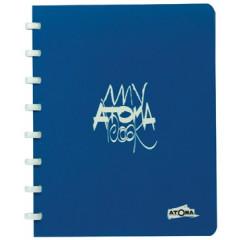Schrift Atoma my book collection A5 commercieel geruit 144blz assorti