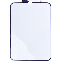 Whiteboard Desq magnetisch 240x340mm paars