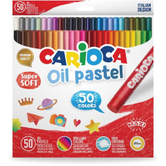 Oliepastel Carioca assorti (50)