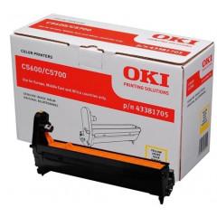 Drum Oki Color Laser 43381705 C5600 20.000 pag. YEL