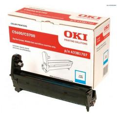 Drum Oki Color Laser 43381707 C5600 20.000 pag. CY