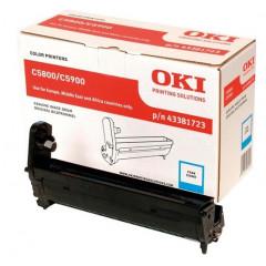 Drum Oki Color Laser 43381723 C5550 MFP 20.000 pag. CY