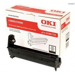 Drum Oki Color Laser 43381724 C5550 MFP 20.000 pag. BK