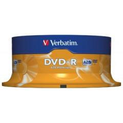 DVD-R Verbatim 4,7GB 16X spindel (25)