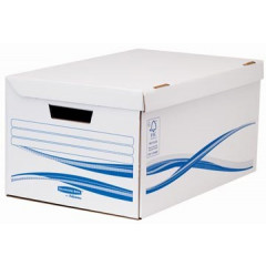 Archiefcontainer Fellowes Bankers Box Flip Top Maxi 26x52,6x35cm