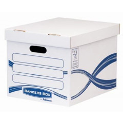 Archiefcontainer Fellowes Bankers Box 28,7x38,4x31,7cm wit