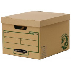 Archiefcontainer Fellowes Bankers Box Earth Series 26x37,5x32,5cm bruin