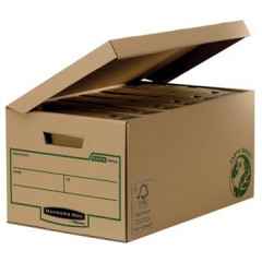 Containerdoos Fellowes bankers box earth series flip top 54,4x29x38cm bruin