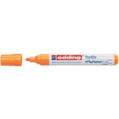 Textielmarker Edding 4500 ronde punt 2-3mm oranje