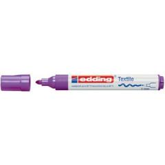 Textielmarker Edding 4500 ronde punt 2-3mm violet