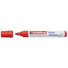Textielmarker Edding 4500 ronde punt 2-3mm rood