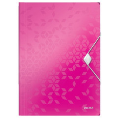 Elastomap Leitz WOW PP A4 roze metallic (4599023)